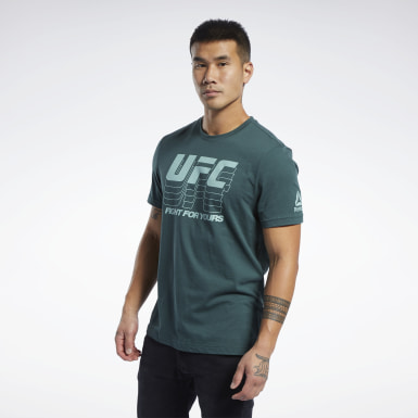 Men Fitness & Training UFC Fan Gear Logo T-Shirt