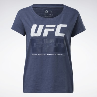 Women Combat Blue UFC Fight Week Tee