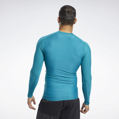 T-shirt Graphic Compression Uomo Fitness & Training