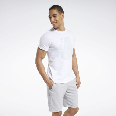Men Classics Triple White Tee