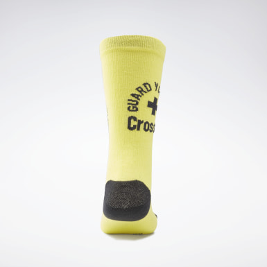 Calze CrossFit® Engineered Crew Giallo Cross Training