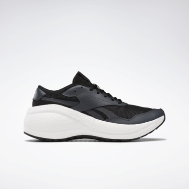 Women Running Black Reebok Metreon Shoes