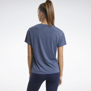 Women Hiking Blue ACTIVCHILL Graphic Tee