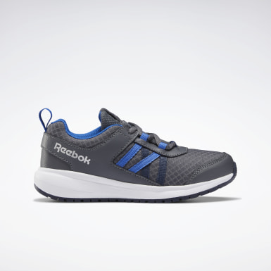 Boys Running Grey Reebok Road Supreme Shoes - Preschool