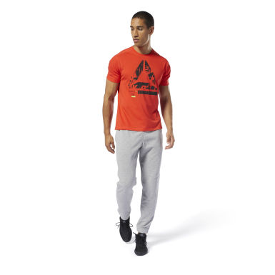 Pantalon resserré aux chevilles Training Essentials Gris Hommes Fitness & Training