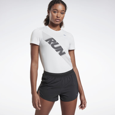 Women Trail Running White Run ACTIVCHILL Tee