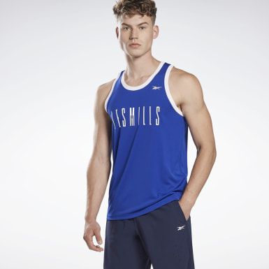 Männer Studio LES MILLS® B-Ball Sleeveless Shirt Not Defined