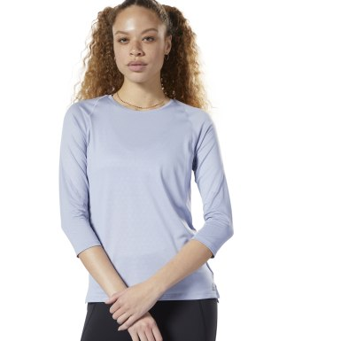 Women Training Blue SmartVent Long Sleeve Tee