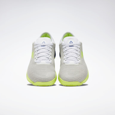 Men Cross Training White Reebok Nano 9 Men's Training Shoes