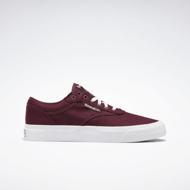 Classics Burgundy Club C Vulcanised Shoes