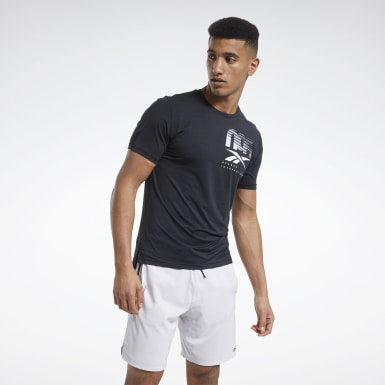 T-shirt ACTIVCHILL Graphic Move Nero Uomo HIIT