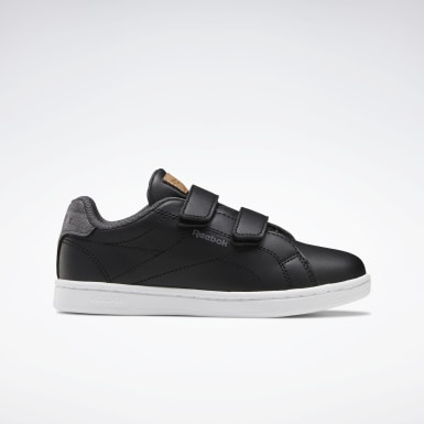 Boys Classics Black Reebok Royal Complete CLN Alt Shoes