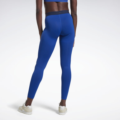 Women Training Blue VB Performance Tights