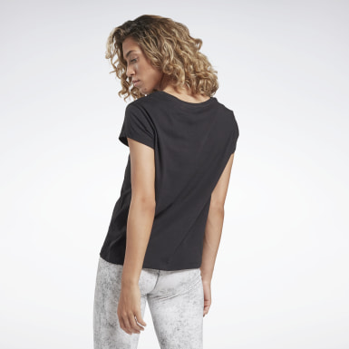 T-shirt Restorative Studio Graphic Nero Donna Yoga