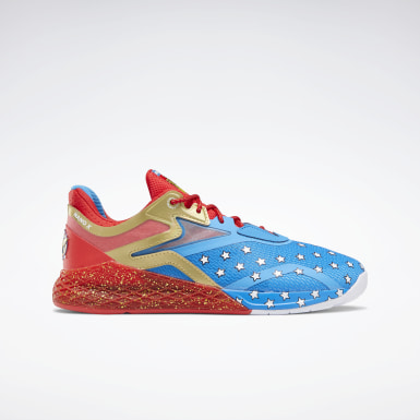 Cross Training Wonder Woman Nano X Shoes Blau