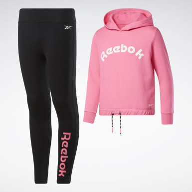 Girls Training 2-Piece Reebok Dance Set
