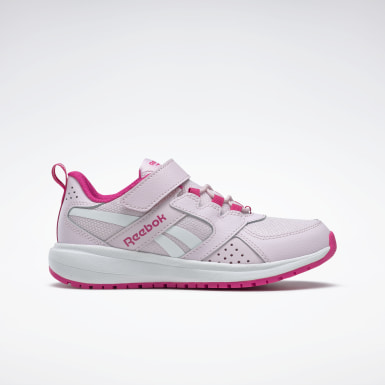 Girls Running Pink Reebok Road Supreme 2 Alt Shoes - Preschool
