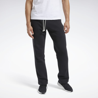 Pantalón Training Essentials Fleece Negro Hombre Fitness & Training