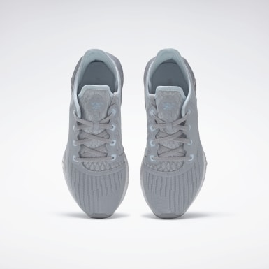 Women Running Grey Reebok Flashfilm 2.0 Shoes