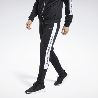 Men Training Black Training Essentials Track Pants