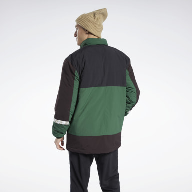 Men Classics Green Classics Winter Escape Jacket