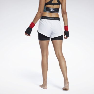Women MMA Grey UFC Fight Week Kickboxing Shorts