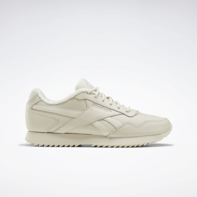 Kvinder Classics White Reebok Royal Glide Ripple Shoes