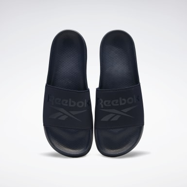 Men Swim Blue Reebok Fulgere Men's Slide