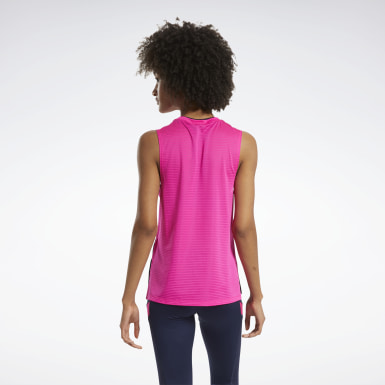Dames Wielrennen Workout Ready Mesh Tanktop