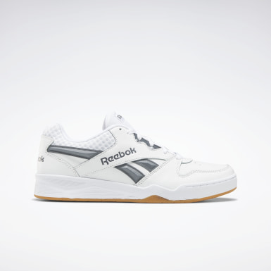 Men Classics White Reebok Royal BB4500 Low 2 Men's Basketball Shoes