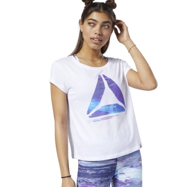 Women Training White One Series Winter Easy Tee