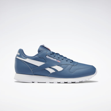 Männer Classics Classic Leather Shoes Blau