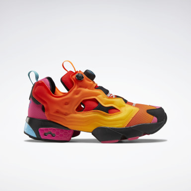 Classics Chromat Instapump Fury Shoes Orange