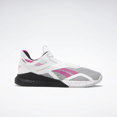 Women Cross Training White Reebok Nano X Shoes