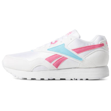 Kids Classics White Rapide Shoes - Grade School