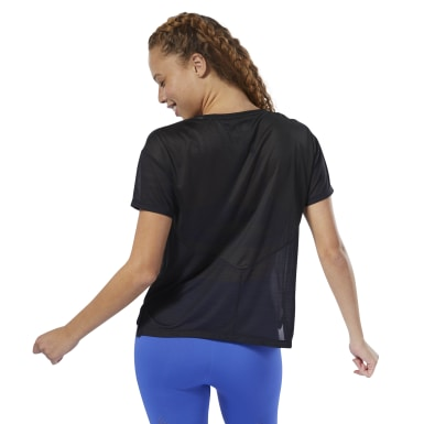 Women Training Black WOR ACTIVCHILL Tee