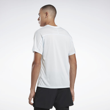Herr Terränglöpning Blå One Series Running Reflective Move Tee