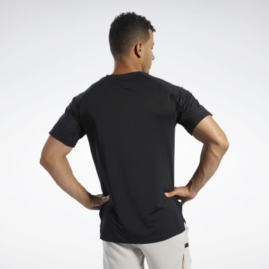 Men Fitness & Training Black SmartVent Graphic Tee