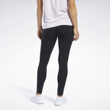 Dam Fitness & Träning Svart Training Essentials Cotton Leggings
