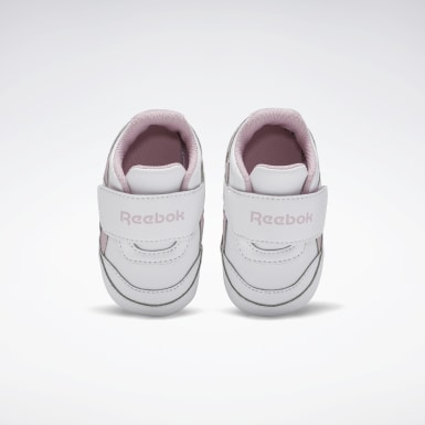 Girls Classics White Reebok Royal Classic Jogger Layette Shoes