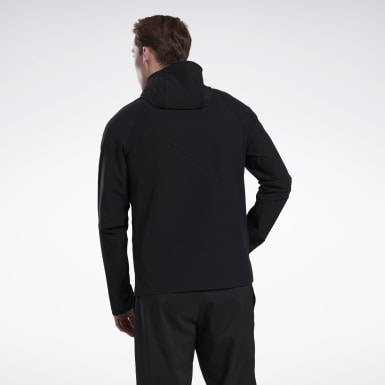 Men Outdoor Black One Series Running Jacket
