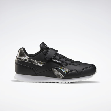 Kids Classics Black Reebok Royal Classic Jogger 3 Shoes