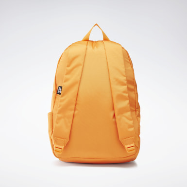 Training Orange Linear Logo Backpack