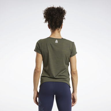 Women Cross Training Green CrossFit® ACTIVCHILL Tee