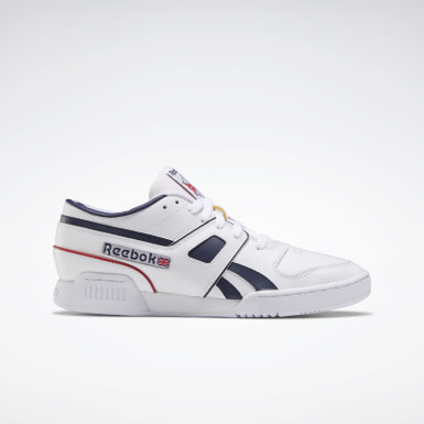 Men Classics White Pro Workout Lo Shoes