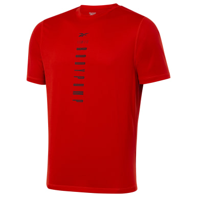 Men Studio Red LES MILLS® BODYPUMP® Tee