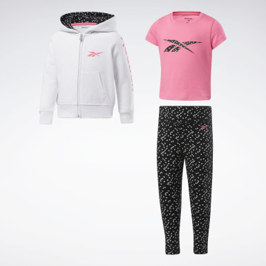 Girls Training 3-Piece Reebok Repeats Set