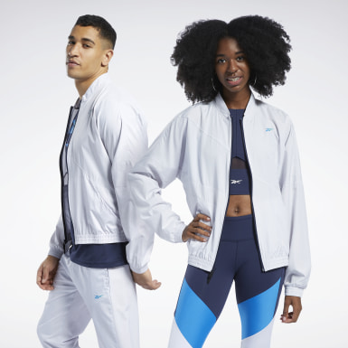 Fitness & Training White Track Jacket