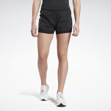 Dam Terränglöpning Svart Running Essentials Two-in-One Shorts