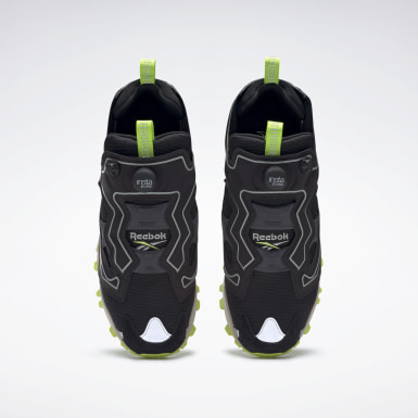 Classics Black InstaPump Fury Trail Shroud Shoes